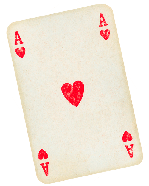 playing your cards right with ace of hearts
