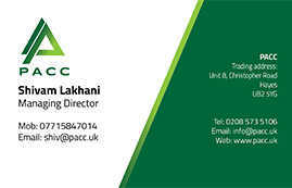 PACC Business Card Back