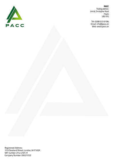 PACC Letter Head Example