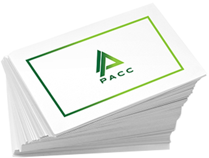 PACC business cards