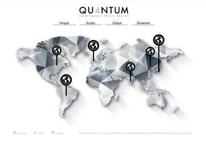Quantum4 website example on macbook